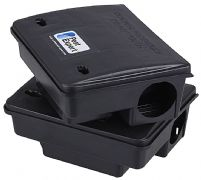 Pest Expert Rat Poison Bait Boxes, Heavy-Duty with Locking Mechanism (x8)